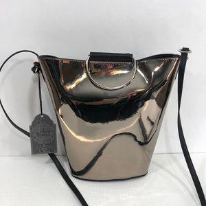 Handbags - Metallic Bucket Purse NWT